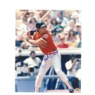 "Jack Clark Autographed San Francisco Giants 8"" x 10"" Photograph in his Orange Uniform (Unframed)"