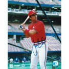 "Jack Clark Autographed ""Batting Cage"" St. Louis Cardinals 8"" x 10"" Photo"