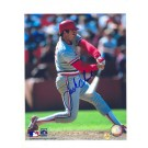 "Jack Clark Autographed St. Louis Cardinals 8"" x 10"" Photograph in his Gray Road Uniform (Unframed)"