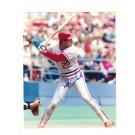 "Jack Clark Autographed St. Louis Cardinals 8"" x 10"" Photograph in his White Home Uniform (Unframed)"