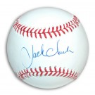 Jack Clark Autographed MLB Baseball