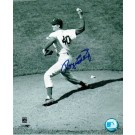 "Roger Craig (Baseball Player) Brooklyn Dodgers Autographed Black and White 8"" x 10"" Unframed Photograph"