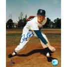 "Roger Craig (Baseball Player) Brooklyn Dodgers Autographed 8"" x 10"" Unframed Photograph"