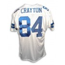 Patrick Crayton Dallas Cowboys Autographed Throwback NFL Football Jersey (White) by