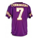 Randall Cunningham Autographed Minnesota Vikings Purple Throwback Jersey