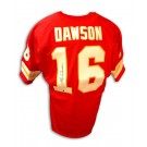 Len Dawson Autographed Kansas City Chiefs Throwback Red Jersey