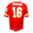 "Len Dawson Autographed Kansas City Chiefs Throwback Red Jersey Inscribed with ""SB IV... by"