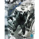 "Joe Delamielleure Autographed ""Protecting Sipe"" Cleveland Browns 8"" x 10"" Photo"