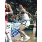 "Ernie DiGregorio Autographed ""Vs Rockets"" Buffalo Braves 8"" x 10"" Photo Inscribed ""1973-74 ROY"""
