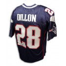 Corey Dillon New England Patriots Autographed Reebok NFL Football Jersey (Blue) by