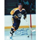 "Marcel Dionne Autographed ""Blue Jersey"" Los Angeles Kings 8"" x 10"" Photo Inscribed ""HOF 92"""