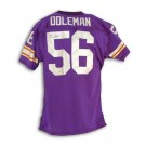 Chris Doleman Minnesota Vikings Autographed Purple Throwback Jersey by