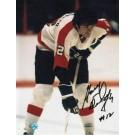 "Gary Dornhoefer Philadelphia Flyers Autographed 8"" x 10"" Photograph (Unframed)"