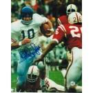 "Bobby Douglass Autographed University of Kansas 8"" x 10"" Photo"