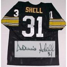 Donnie Shell Pittsburgh Steelers Autographed Throwback Jersey