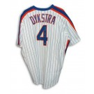 """Lenny Dykstra New York Mets Autographed White Pinstripe Majestic Jersey Inscribed with """"1986 WS Champs"""""""