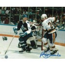 "Bernie Federko Autographed ""Vs Maple Leafs"" St. Louis Blues 8"" x 10"" Photo"