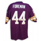 Chuck Foreman Autographed Minnesota Vikings Throwback Purple Jersey