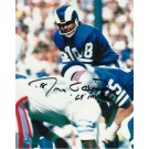 "Roman Gabriel Los Angeles Rams Autographed ""vs. the Houston Oilers"" 8"" x 10"" Unframed Photograph Inscribed with ""69 MVP"""