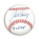"Steve Garvey Autographed MLB Baseball Inscribed ""81 WS Champs"""