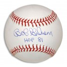"Bob Gibson Autographed Baseball Inscribed with ""HOF 81"""