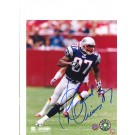"""David Givens Autographed New England Patriots 8"""" x 10"""" Photograph (Unframed)"""