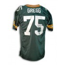 "Forrest Gregg Green Bay Packers Autographed Throwback Jersey Inscribed with ""HOF... by"