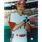 "Greg Gross Philadelphia Phillies Autographed 8"" x 10"" Unframed Photograph"