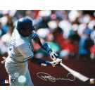 "Pedro Guerrero Autographed ""Swinging"" Los Angeles Dodgers 8"" x 10"" Photo"