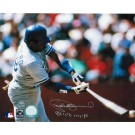 """Pedro Guerrero Los Angeles Dodgers Autographed 8"""" x 10"""" Horizontal Photograph Inscribed with """"80 WS MVP"""" (Unframed)"""