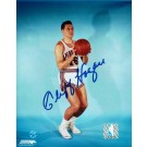 "Cliff Hagan Autographed ""Shooting"" St. Louis Hawks 8"" x 10"" Photo"