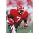 "Rodney Hampton Autographed ""Running"" University of Georgia 8"" x 10"" Photo"