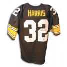 Franco Harris Autographed Pittsburgh Steelers Black Throwback Jersey