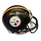 Franco Harris Autographed Pittsburgh Steelers Pro Line Helmet