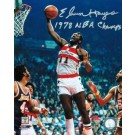 """Elvin Hayes Autographed Washington Bullets 8"""" x 10"""" Photo Inscribed """"1978 NBA Champs"""""""