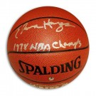 "Elvin Hayes Autographed Indoor/Outdoor Basketball Inscribed ""1978 NBA Champs"""