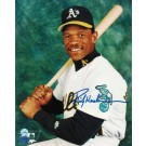 "Rickey Henderson Oakland Athletics Autographed ""Pose"" 8"" x 10"" Unframed Photograph"