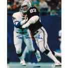 "Ted Hendricks Oakland Raiders Autographed 8"" x 10"" Unframed Photograph"