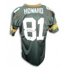 "Desmond Howard Green Bay Packers Autographed Throwback NFL Football Jersey Inscribed ""SB XXXI MVP"" (Green)"