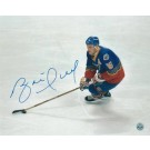 "Brett Hull Autographed ""Handling the Puck"" St. Louis Blues 8"" x 10"" Photo"