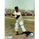 "Monte Irvin Autographed "" Batting Stance"" New York Giants (Baseball) 8"" x 10"" Photo"