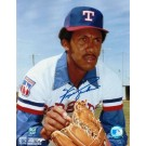 """Ferguson Jenkins Autographed """"Looking for the Sign"""" Texas Rangers 8"""" x 10"""" Photo"""