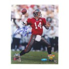 "Brad Johnson Tampa Bay Buccaneers Autographed 8"" x 10"" Photograph Inscribed ""SB 37 Champs"" and ""14"" (Unframed)"