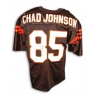 Chad Johnson Autographed Cincinnati Bengals Black Custom Made Football Jersey by