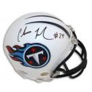 Chris Johnson Autographed Tennessee Titans Mini Football Helmet by