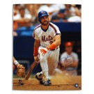 "Howard Johnson Autographed New York Mets 16"" x 20"" Photograph Inscribed with ""86 WS Champs"" (Unframed)"