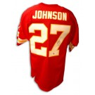 Larry Johnson Autographed Kansas City Chiefs Red Jersey