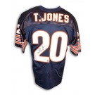 Thomas Jones Autographed Chicago Bears Custom Made Football Jersey by
