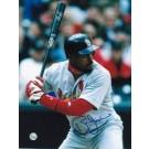 "Brian Jordan Autographed ""At the Plate"" St. Louis Cardinals 8"" x 10"" Photo"