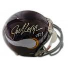 Joe Kapp Autographed Minnesota Vikings Pro Line Throwback NFL Full Size Helmet by